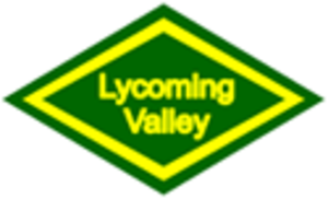 Lycoming Valley Railroad - Image: Lycoming Valley Railroad Herald