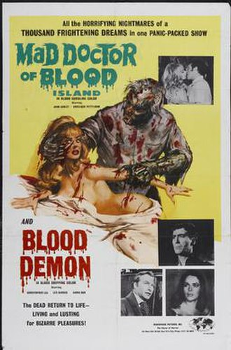 The Mad Doctor of Blood Island - Image: Mad doctor of blood island combo poster md