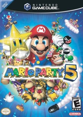 Mario Party 5 - North American box art