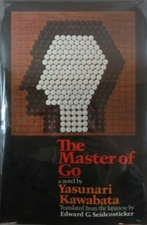 <i>The Master of Go</i> novel by Yasunari Kawabata