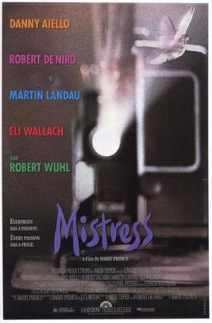 Mistress (1992 film) - Theatrical release poster
