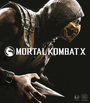 Mortal Kombat X - Image: Mortal Kombat X Cover Art