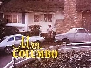 Mrs. Columbo - Title card for earliest episodes