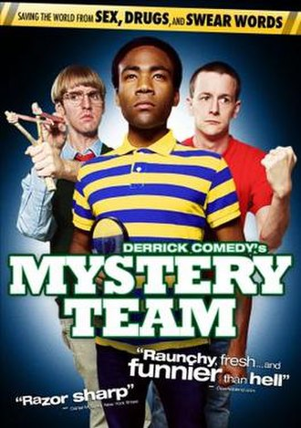Mystery Team - Film release poster
