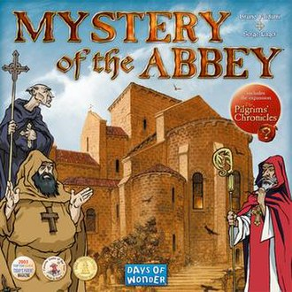 Mystery of the Abbey - Box cover