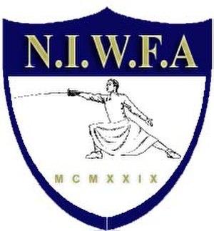 National Intercollegiate Women's Fencing Association - Image: NIWFA logo