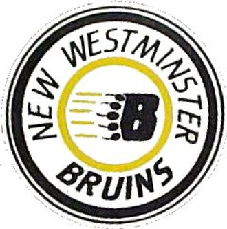 New Westminster Bruins - New Westminster Bruins logo used by the second incarnation of the franchise.