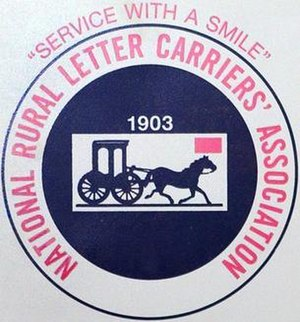 National Rural Letter Carriers' Association - Image: National Rural Letter Carriers' Association logo