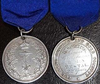 Naval Long Service and Good Conduct Medal (1830) Award