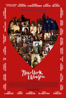 <i>New York, I Love You</i> 2009 anthology film directed by Fatih Akın and 10 others