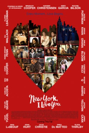 New York, I Love You - Theatrical release poster