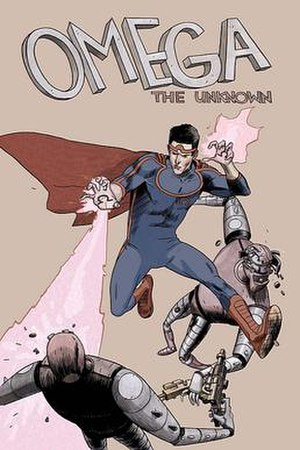 Omega the Unknown - Cover of the first issue of the revamped Omega the Unknown, illustrated by Farel Dalrymple.