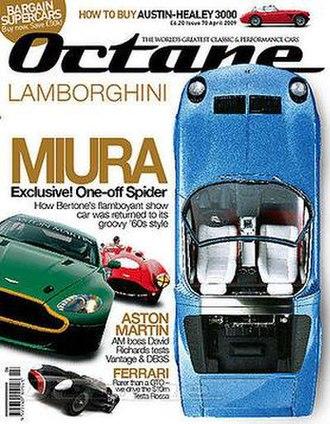 Octane (magazine) - Octane magazine, April 2009