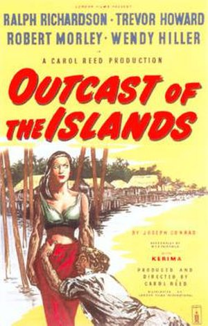 Outcast of the Islands - original movie poster