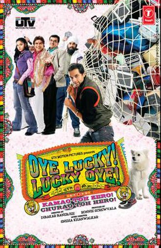 Oye Lucky! Lucky Oye! - Theatrical release poster