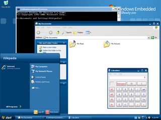 Windows Embedded Industry industrial embedded operating system by Microsoft