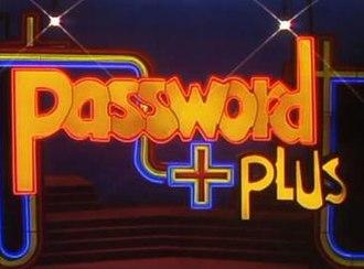 Password Plus and Super Password - Image: Password Plus