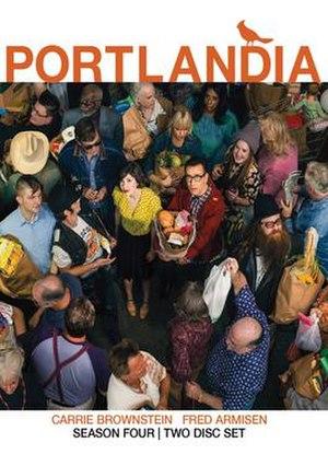 Portlandia (season 4) - DVD cover