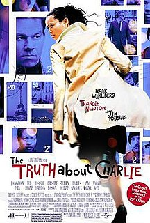 <i>The Truth About Charlie</i> 2002 film by Jonathan Demme