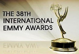38th International Emmy Awards - Promotional poster