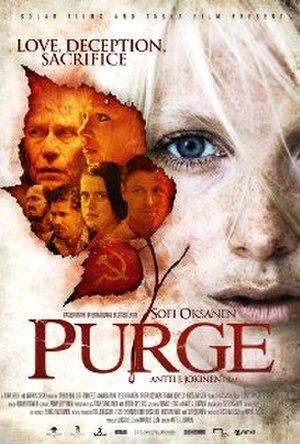 Purge (2012 film) - Film poster