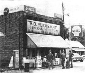 Purley, North Carolina - The W.D. Pleasant General Store