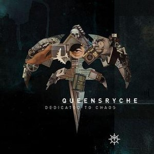 Dedicated to Chaos - Image: Queensryche Dedicated to Chaos cover
