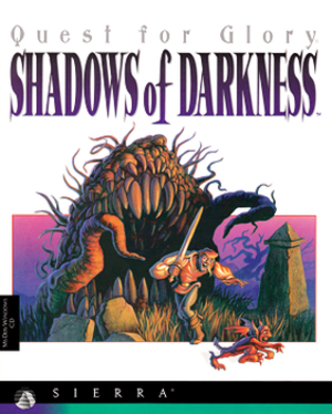 Quest for Glory: Shadows of Darkness - CD Cover art