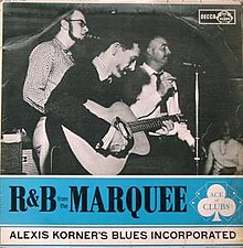 R&B from the Marquee (album) 1962.jpg
