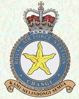 Changi Air Base - RAF Changi badge