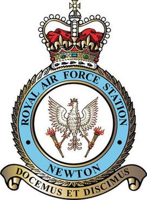 RAF Newton - We teach and we learn