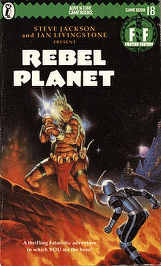 Rebel Planet - Cover of the first edition