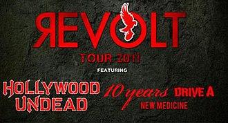 """Revolt Tour - The official banner for the """"Revolt Tour"""""""