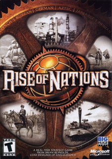 <i>Rise of Nations</i> video game