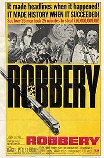 <i>Robbery</i> (1967 film) 1967 film by Peter Yates