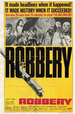 Robbery (1967 film) - Film poster