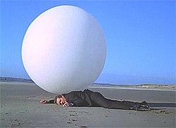 Destruction of inflatable beach ball youtube
