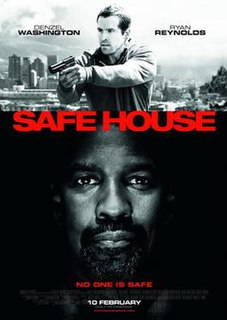 <i>Safe House</i> (2012 film) 2012 film by Daniel Espinosa