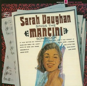 Sarah Vaughan Sings the Mancini Songbook - Image: Sarahman