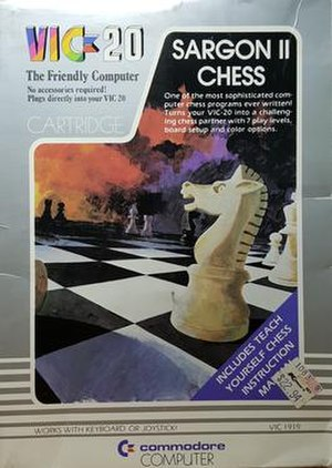 Sargon (chess) - Sargon II Chess for the VIC-20