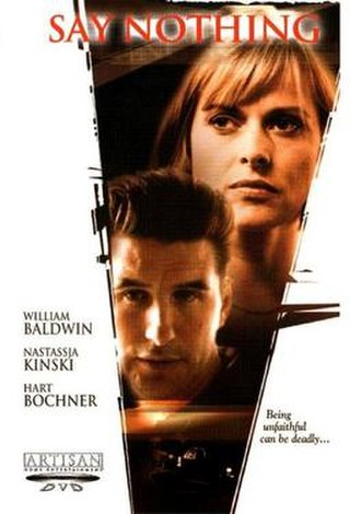 Say Nothing (film) - DVD cover