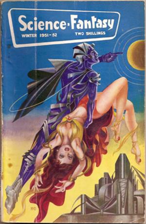 Science Fantasy (magazine) - Image: Science Fantasy Winter 1951 cover