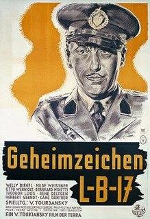 <i>Secret Code LB 17</i> 1938 film