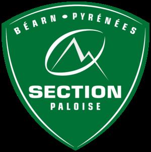 Section Paloise - Image: Section paloise badge