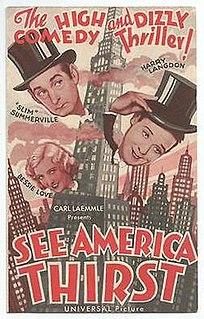 <i>See America Thirst</i> 1930 film