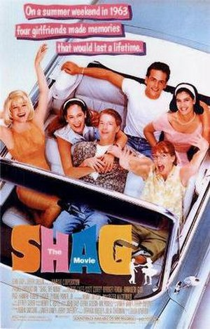 Shag (film) - Theatrical release poster