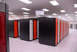 Cray XT3 - A Cray XT3 supercomputer at Oak Ridge National Laboratory