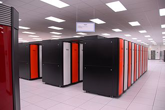Cray XT3 - A Cray XT3 supercomputer at Oak Ridge National Laboratory