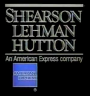 Shearson - Shearson Lehman Hutton logo