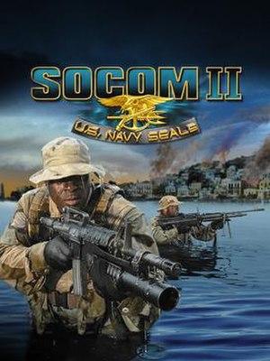 SOCOM II - Image: Socom 2 Box Art